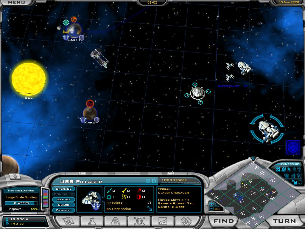 Click to view Galactic Civilizations II: Dread Lords 1.0 screenshot